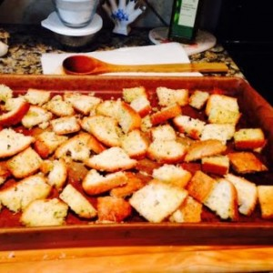 Ranch Dressing & Gluten Free Croutons: